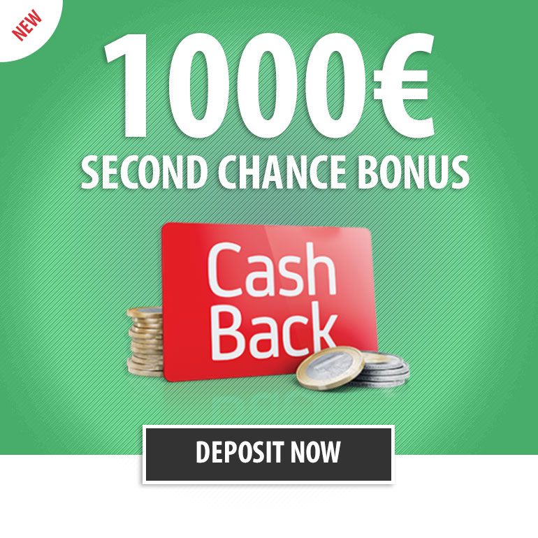 Casino Second Chance Bonus!